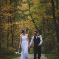 A Wooded Wedding in Racine